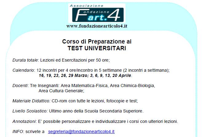 test_universitari
